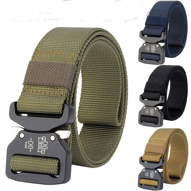 Wholesale Custom Nylon / Strap Canvas / Military Tactical Molle Belt With Cobra Buckle