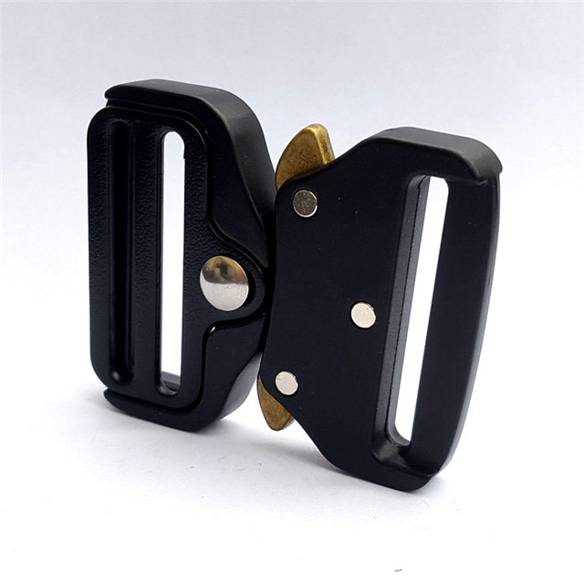Wholesale Safe Buckle High Strength Pull Clasp Metal Custom Cobra Buckle