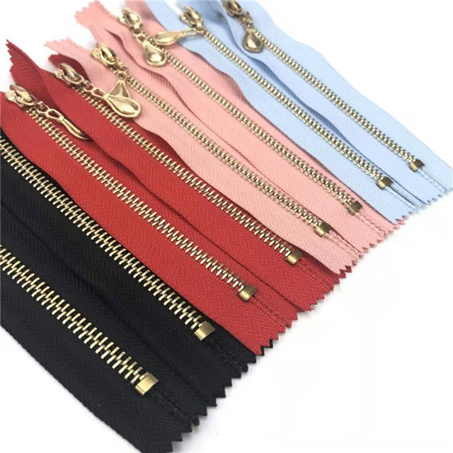 New Hot Sale Transparent Colorful Nylon Zipper Invisible #3 Waterproof Metal Zipper