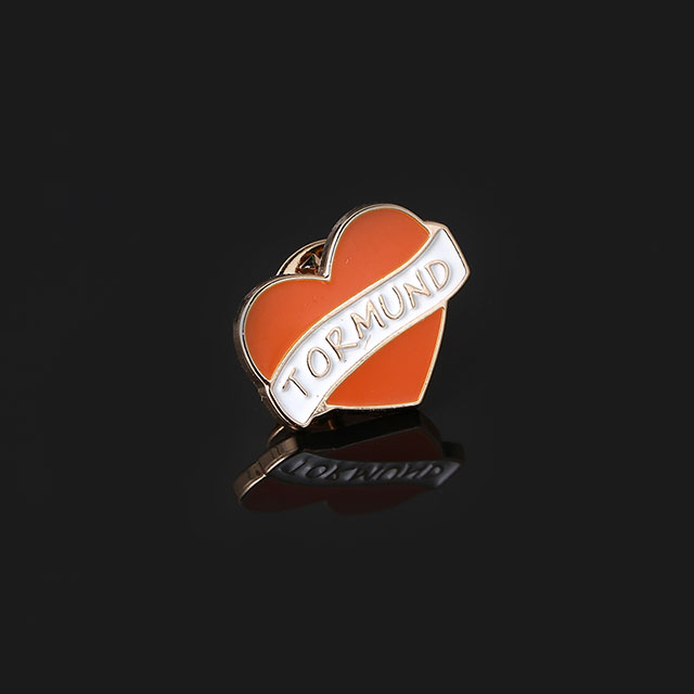 Cheap Supplier in China Zinc Alloy Metal Badge Pin with Clip Button