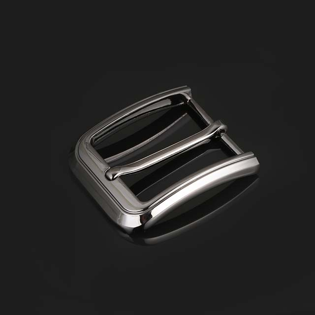Laser Logo Custom Pin Belt Buckle for Men 40mm Fashion Metal Buckle Manufacturers