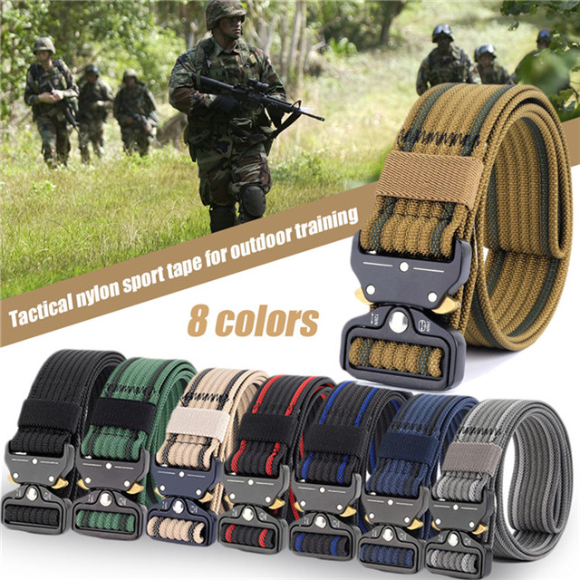 Custom Military Army Multifunctional Defense Tactical Law Enforcement Duty Belt