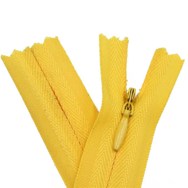 High Quality Invisible Zipper 3# 5# 7# Factory Wholesale Best Price Nylon Zipper Decoration