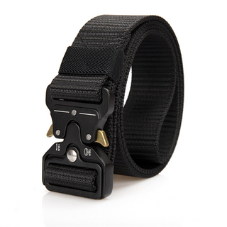 2019 Mens Tactical Belts Outdoor Heavy-Duty Quick-Release Metal Buckle Military Webbing Riggers Nylon Belts