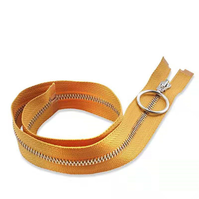 5# Brass Material Close-end Customized Wholesale Metal Zipper for Jeans
